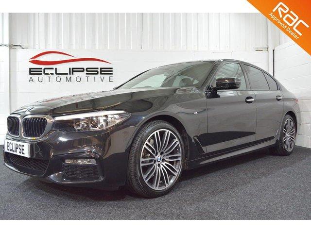 2017 67 BMW 5 SERIES 2.0 520D M SPORT 4d AUTO 188 BHP