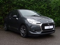 USED 2016 16 DS DS 3 1.6 BLUEHDI ELEGANCE S/S 3d 98 BHP Low Mileage, £0 Tax Per Year, Excellent Fuel Economy, Diamond Cut Alloy Wheels, Rear Parking Sensors, Climate Control, Cruise Control, DAB Radio, Finished In Grey Metallic Paintwork, Privacy Glass, Auto Lights + Wipers, Drive Away In Under 1 Hour