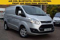 2014 FORD TRANSIT CUSTOM 2.2 290 LIMITED LR P/V 1d 124 BHP £8999.00