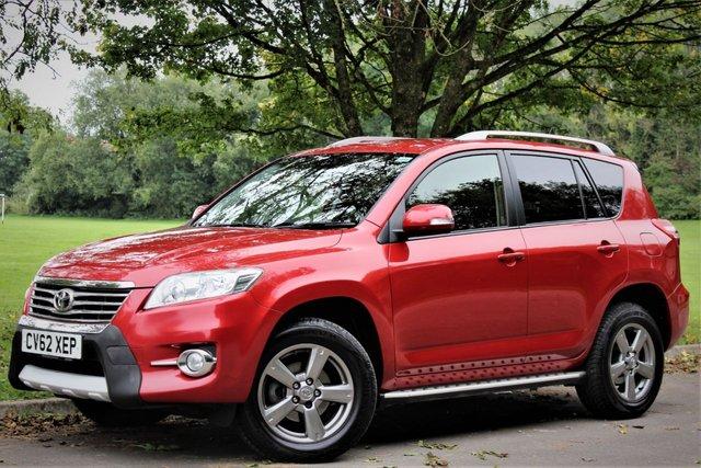 2012 62 TOYOTA RAV4 2.2 XT-R D-4D 5d 150 BHP