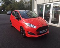 USED 2015 65 FORD FIESTA 1.0 ZETEC S RED EDITION ECOBOOST (140ps) 3d THIS VEHICLE IS AT SITE 1 - TO VIEW CALL US ON 01903 892224