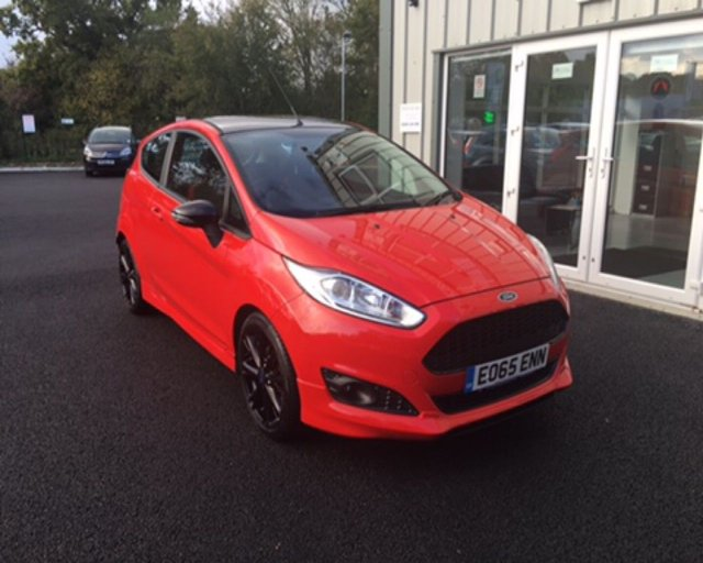 2015 65 FORD FIESTA 1.0 ZETEC S RED EDITION ECOBOOST (140ps) 3d