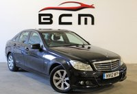 USED 2012 12 MERCEDES-BENZ C CLASS 2.1 C200 CDI BLUEEFFICIENCY SE 4d 135 BHP