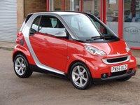 2008 SMART FORTWO 1.0 PULSE 2d AUTO 70 BHP £2899.00