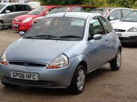 2006 FORD KA 1.3 COLLECTION 3d 69 BHP £1899.00
