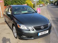 2006 LEXUS GS 3.5 450H SE 4d AUTO 292 BHP £7495.00