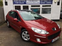 USED 2010 10 PEUGEOT 407 1.6 SW SPORT HDI 5d 108 BHP 47K 1OWNER HUGE SPEC PAN ROOF SAT/NAV  1/2 LEATHER EXC CONDITION