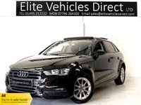USED 2014 64 AUDI A3 1.6 TDI SE 5d **PANORAMIC ROOF** **STUNNING EXAMPLE**