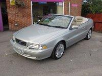2003 VOLVO C70 2.0 T 2d AUTO 163 BHP £2495.00