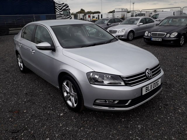 2011 11 VOLKSWAGEN PASSAT 2.0 SE TDI BLUEMOTION TECHNOLOGY 4d 139 BHP