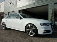 USED 2012 62 AUDI A4 2.0 TDI S LINE BLACK EDITION 4d 174 BHP