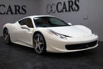 2014 FERRARI 458 4.5 ITALIA DCT 2d AUTO 570 BHP £154995.00