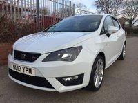 2013 SEAT IBIZA 1.2 TSI FR 5d 104 BHP £5990.00