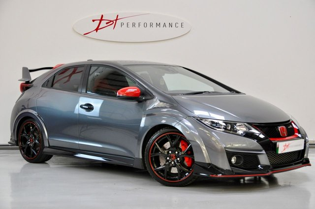 2015 15 HONDA CIVIC 2.0 I-VTEC TYPE R GT 5d 306 BHP POLISHED METAL & RED RALLYE PACK