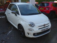 USED 2016 66 FIAT 500 0.9 TWINAIR SPORT 3d 85 BHP NEW SHAPE Serviced by ourselves, MOT until September 2019, Excellent on fuel economy! ZERO Road tax! Balance of Fiat Warranty until September 2019