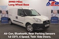 USED 2014 64 FIAT DOBLO 1.6 16V MULTIJET 105 BHP 39950 Miles, Long Wheel Base, Air Con, Bluetooth, Rear Parking Sensors **Drive Away Today** Over The Phone Low Rate Finance Available, Just Call us on 01709 866668