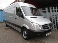 USED 2011 11 MERCEDES-BENZ SPRINTER 313 CDi LWB High roof 4 metre load length *ONLY 56000 MILES* BLUETOOTH - CRUISE CONTROL - PARKTRONIC