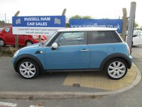 USED 2007 57 MINI HATCH COOPER 1.6 COOPER 3d 118 BHP New MOT & Full Service Done on purchase + 2 Years FREE Mot & Service Included After . 3 Months Russell Ham Quality Warranty . All Car's Are HPI Clear . Finance Arranged - Credit Card's Accepted . for more cars www.russellham.co.uk  - Owners Book Pack.