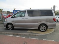 USED 2004 53 TOYOTA ALPHARD 3.0 1d  New MOT & Full Service Done on purchase + 2 Years FREE Mot & Service Included After . 3 Months Russell Ham Quality Warranty . All Car's Are HPI Clear . Finance Arranged - Credit Card's Accepted . for more cars www.russellham.co.uk  - Spare Key . Twin Sunroof .
