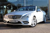 2013 MERCEDES-BENZ E CLASS 3.0 E350 CDI BLUEEFFICIENCY SPORT 2d 265 BHP £15995.00