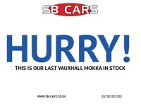 USED 2013 62 VAUXHALL MOKKA 1.7 SE CDTI S/S 5d 128 BHP ONLY £30 YEARLY ROAD TAX: