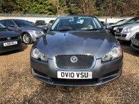2010 JAGUAR XF 3.0 V6 PREMIUM LUXURY 4d AUTO 240 BHP £7500.00