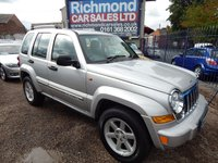 USED 2006 06 JEEP CHEROKEE 2.8 LIMITED CRD 5d 161 BHP LEAHTER, SAT NAV, SUNROOF, FULL SERVICE HISTORY,