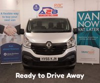 USED 2016 66 RENAULT TRAFIC 1.6 BUSINESS DCi 120 BHP LONG WHEEL BASE with only 23,829 Miles, Sat Nav,  Bluetooth, Rear Parking Sensors, Dab Radio **Drive Away Today** Over The Phone Low Rate Finance Available, Just Call us on 01709 866668