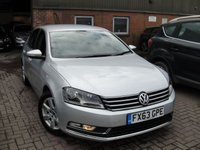 2013 VOLKSWAGEN PASSAT 2.0 HIGHLINE TDI BLUEMOTION TECHNOLOGY DSG 4d AUTO 139 BHP £6480.00