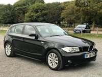 2006 BMW 1 SERIES 1.6 116I SE 5d 114 BHP £3500.00