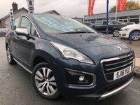 2016 PEUGEOT 3008 1.6 BLUE HDI S/S ACTIVE 5d AUTO 120 BHP £11977.00