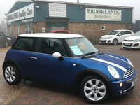 2006 MINI HATCH COOPER 1.6 COOPER 3 Door Chili Pack Hyper Blue Metallic 114 BHP £2995.00