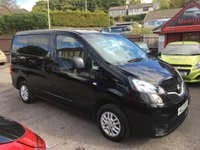 USED 2013 13 NISSAN NV200 1.5 DCI ACENTA COMBI 5d 89 BHP LOW MILEAGE, 7 SEATER, REAR CAMERA, AIR CONDITIONED