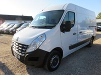 2014 RENAULT MASTER 2.3 MM35 DCI FWD 125 BHP TAIL LIFT 65,158 MILES £9995.00