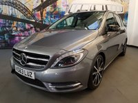 USED 2014 63 MERCEDES-BENZ B CLASS 1.8 B200 CDI BLUEEFFICIENCY SPORT 5d AUTO 136 BHP