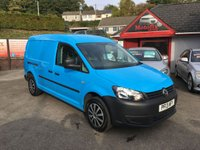 USED 2013 13 VOLKSWAGEN CADDY MAXI 1.6 C20 TDI  101 BHP NO VAT !!, LOW MILEAGE, AIR CONDITIONED, PARKING SENSORS