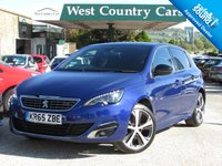 USED 2015 65 PEUGEOT 308 1.6 BLUE HDI S/S GT LINE 5d 120 BHP Stunning Value With A Great Specification