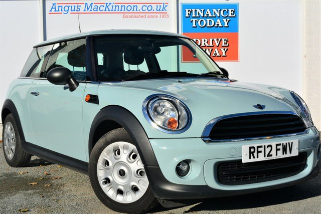 2012 12 MINI HATCH ONE 1.6 ONE Great Value For Money Petrol 3d Hatchback