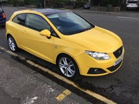 USED 2009 59 SEAT IBIZA 1.6 SPORT CR TDI 3d 103 BHP OUR  PRICE INCLUDES A 6 MONTH AA WARRANTY DEALER CARE EXTENDED GUARANTEE, 1 YEARS MOT AND A OIL & FILTERS SERVICE. 6 MONTHS FREE BREAKDOWN COVER.   CALL US NOW FOR MORE INFORMATION OR TO BOOK A TEST DRIVE ON 01315387070 !!