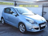 2011 RENAULT SCENIC 1.5 DYNAMIQUE TOMTOM DCI 5d 110 BHP £5250.00