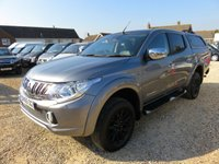 2015 MITSUBISHI L200 2.4 DI-D 4X4 BARBARIAN DOUBLE CAB PICK UP 178 BHP WITH ONLY 28,578 MILES £15950.00