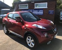 USED 2012 62 NISSAN JUKE 1.6 ACENTA 5d AUTO 117 BHP AUTOMATIC AUTO ONLY 13K MILES