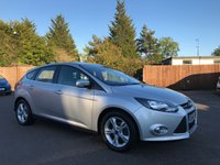 USED 2014 64 FORD FOCUS 1.6 ZETEC 5d  WITH BLUETOOTH, ALLOYS, AIR CON NO DEPOSIT  FINANCE ARRANGED, APPLY HERE NOW