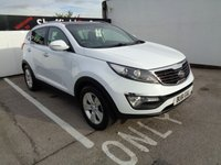 USED 2011 61 KIA SPORTAGE 1.6 2 5d 133 BHP £182 A MONTH FULL SERVICE HISTORY 7 STAMPS  AIR CON CRUISE CONTROL BLUETOOTH ALLOYS SOUGHT AFTER COLOUR MOT 18/09/2019