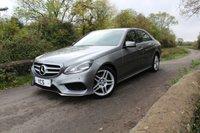 2013 MERCEDES-BENZ E CLASS 2.1 E250 CDI AMG SPORT 4d AUTO 202 BHP £14699.00