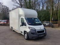 2015 PEUGEOT BOXER 2.2 HDI 335 L3 LOW LOADER 130PS £11995.00