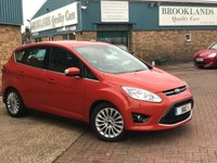 2010 FORD C-MAX 1.6 TITANIUM TDCI 5 Door Burnished Glow Metallic 114 BHP £5695.00