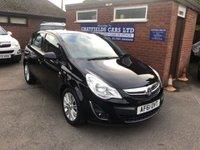 2011 VAUXHALL CORSA 1.4 SE 5d AUTO 98 BHP £5790.00