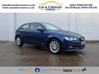 USED 2014 63 AUDI A3 1.4 TFSI SE 3d 121 BHP One Owner Full History DAB A/C Buy Now, Pay in 2 Months!