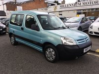 2009 CITROEN BERLINGO 1.6 FIRST HDI 5d 75 BHP £2500.00